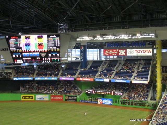 Marlins Park Miami Florida
