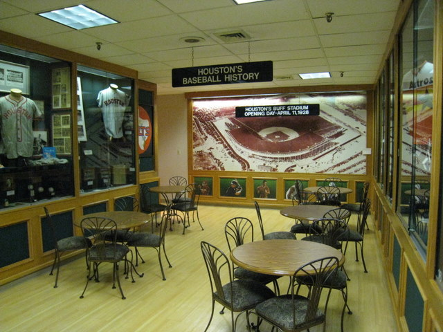 Merveilleux The Houston Sports Hall Of Fame Was Located In The Basement Of The Finger  Furniture Store, Which Was Where Buff Stadium Once Stood.
